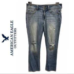 American Eagle Artist Cropped Jeans